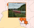 Станции Забайкальской железной дороги