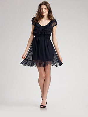Выпускное Черное Платье 68