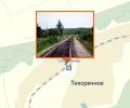 Железнодорожная станция Тихоречное