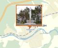 Памятник в честь воинов-односельчан, п. Биракан