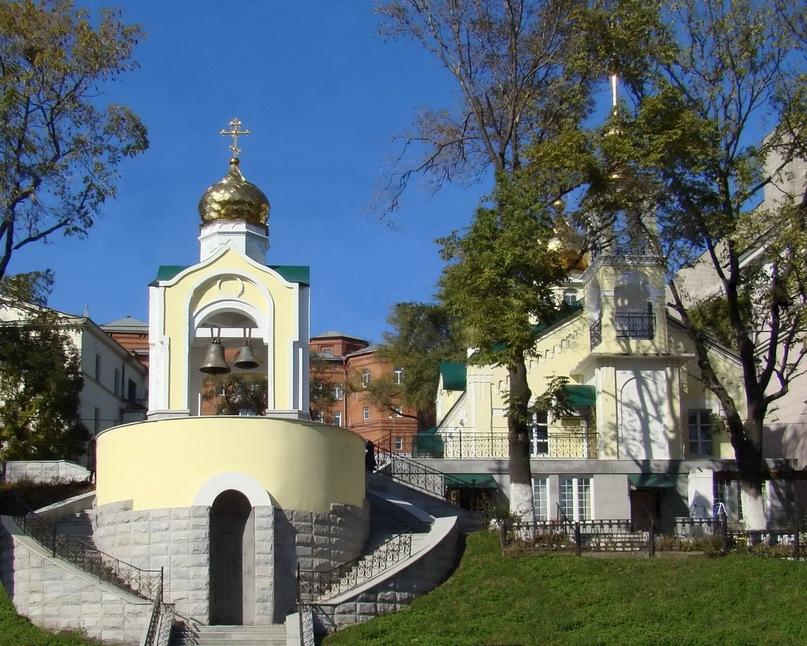 Какие древнейшие храмы есть на территории Владивостока?