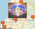 Как выбрать люстру для натяжного потолка во Владивостоке?