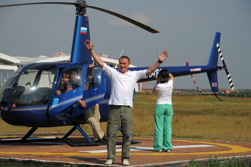 Как организовать полёт на вертолете во Владивостоке?